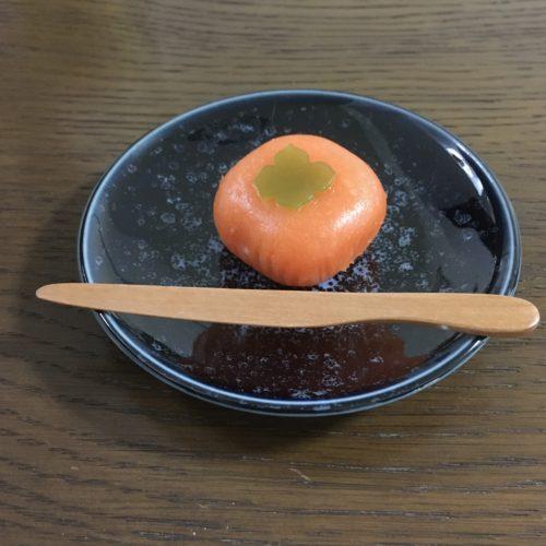 塩埜。柿(ういろう)。